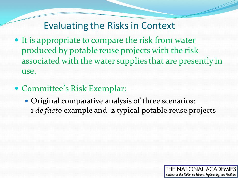 Evaluating the Risks in Context
