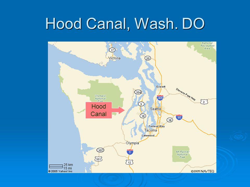 Hood Canal, Wash. DO Hood Canal