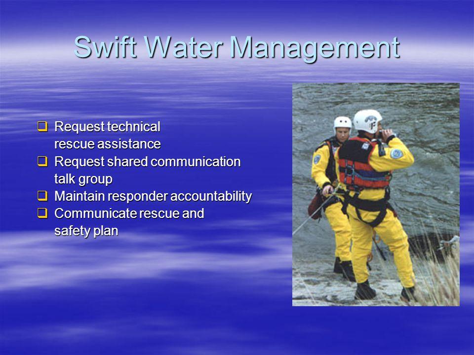 Swift Water Management