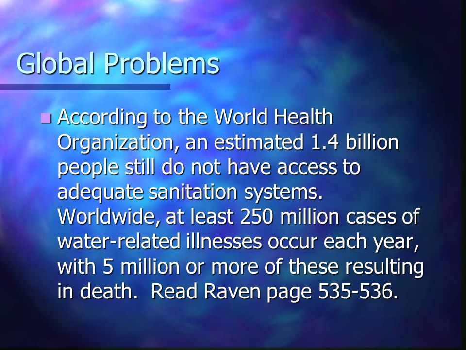Global Problems