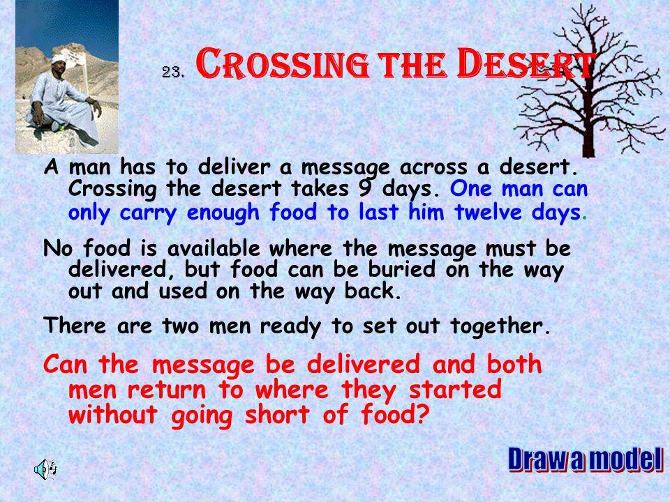 23. Crossing the Desert