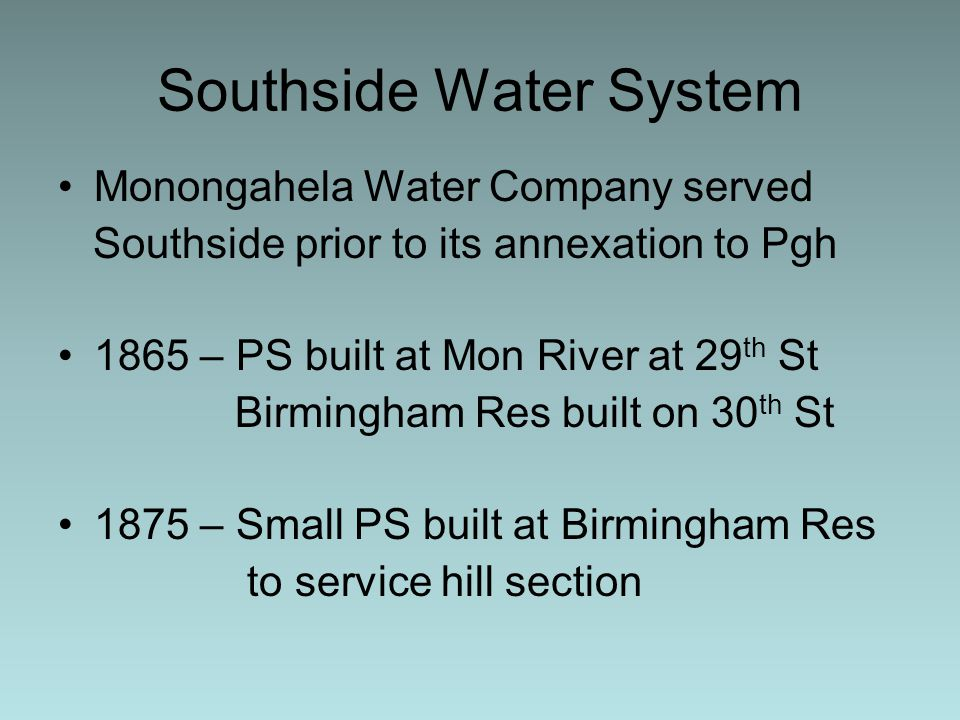 Southside Water System