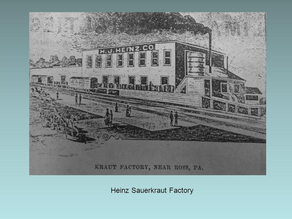 Heinz Sauerkraut Factory