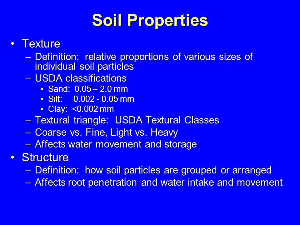 soil water relationships ppt download
