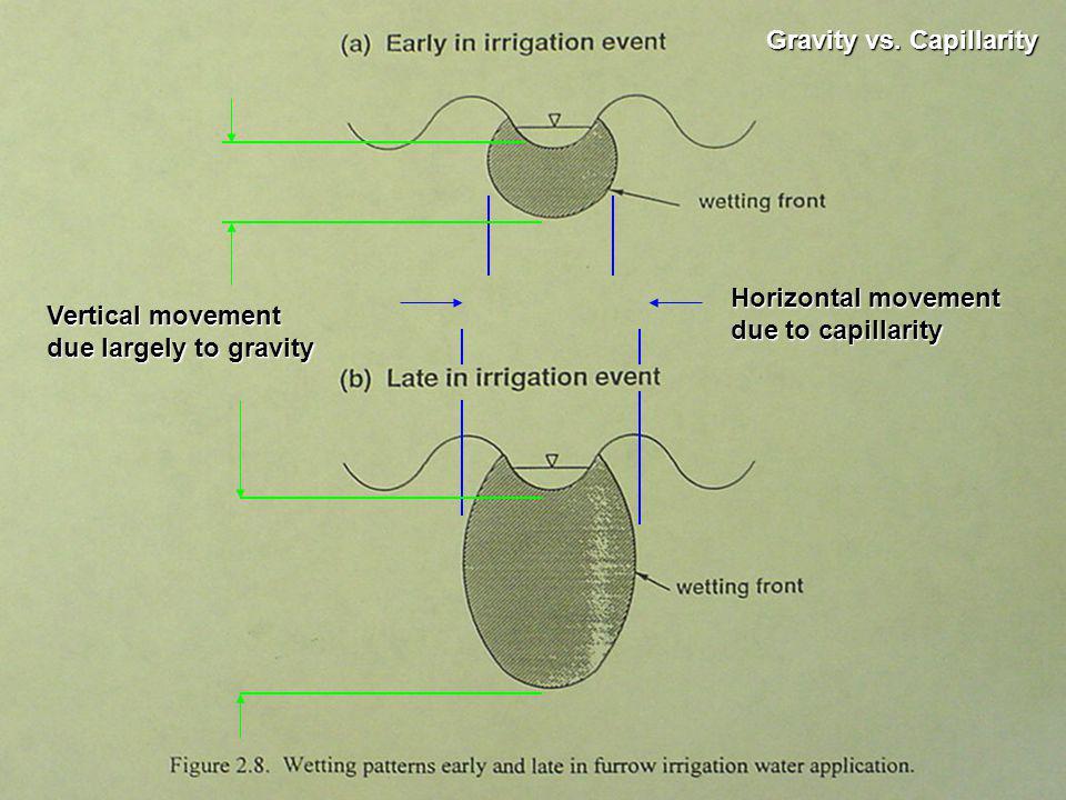 Gravity vs. Capillarity