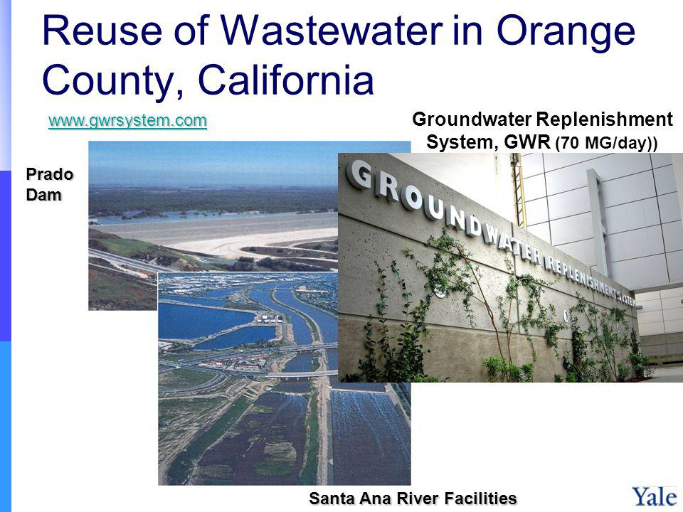 Reuse of Wastewater in Orange County, California