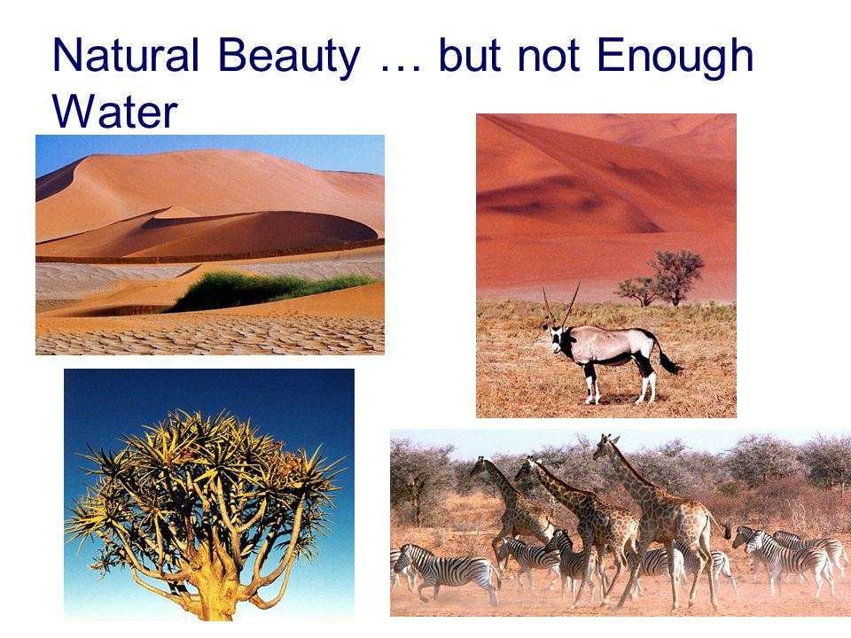 Natural Beauty … but not Enough Water
