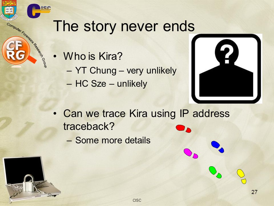 The story never ends Who is Kira