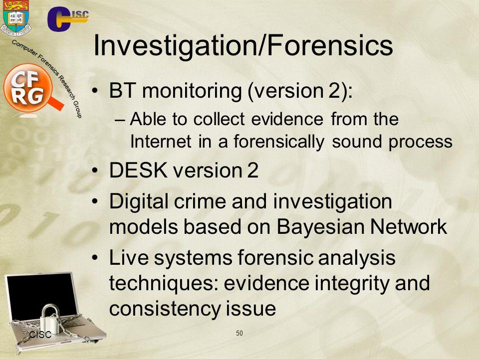 Investigation/Forensics