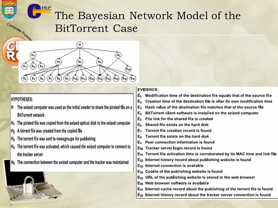 The Bayesian Network Model of the BitTorrent Case