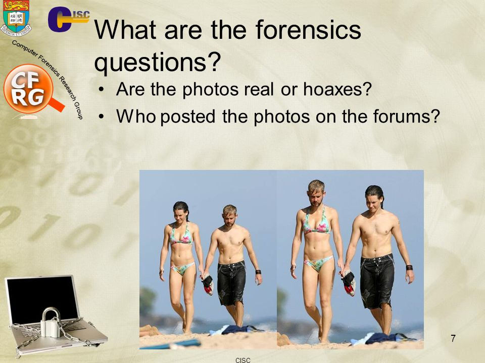 What are the forensics questions