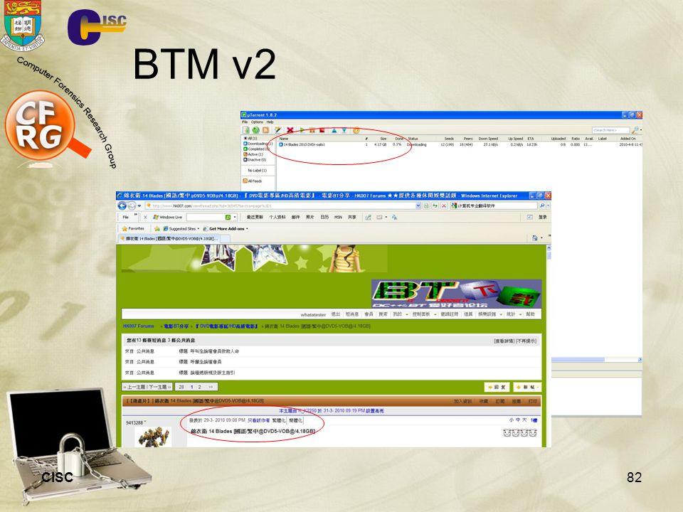 BTM v2 CISC