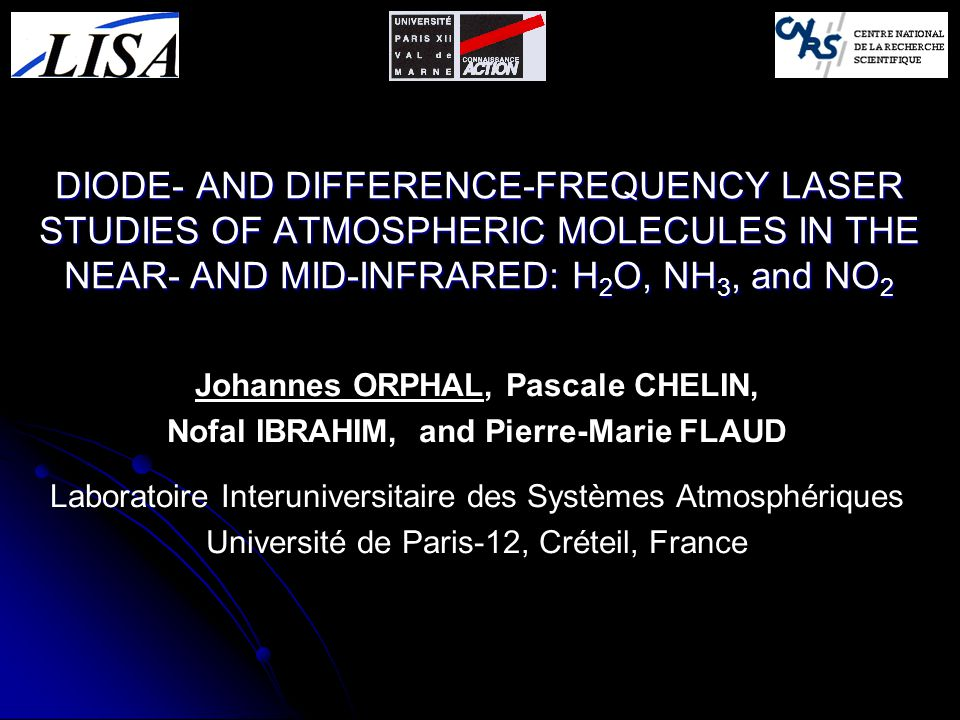 Johannes ORPHAL, Pascale CHELIN, Nofal IBRAHIM, and Pierre-Marie FLAUD