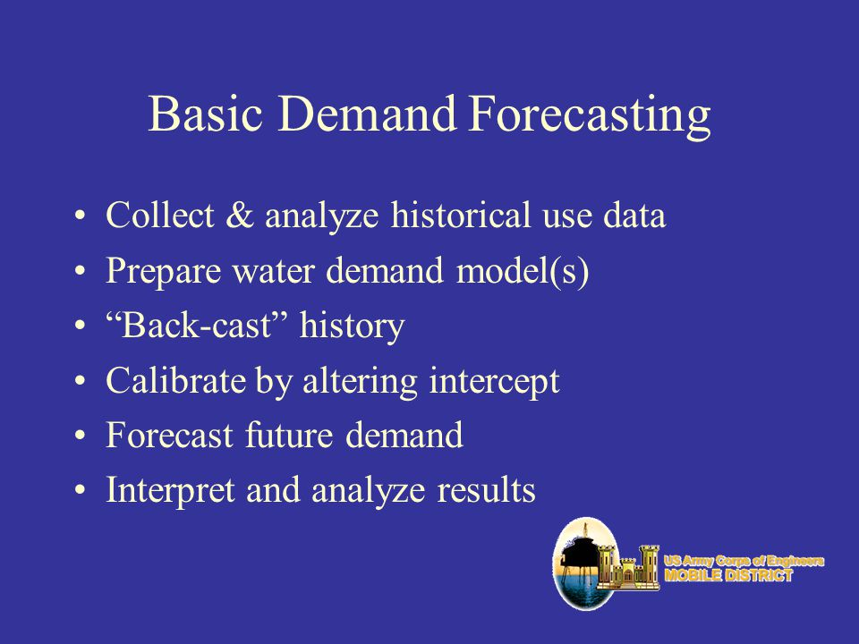 Basic Demand Forecasting