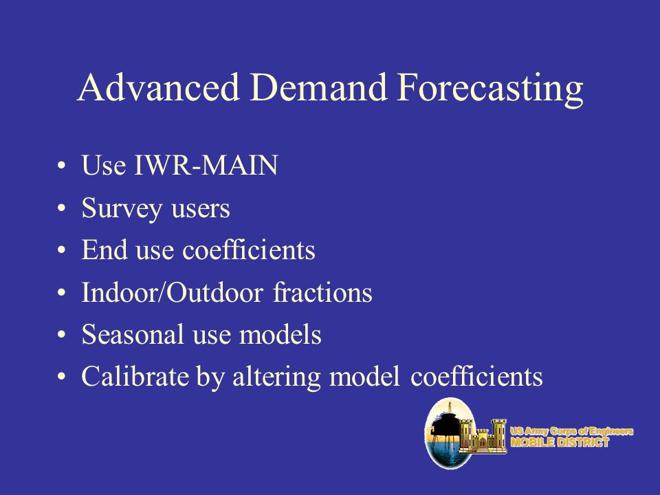 Advanced Demand Forecasting