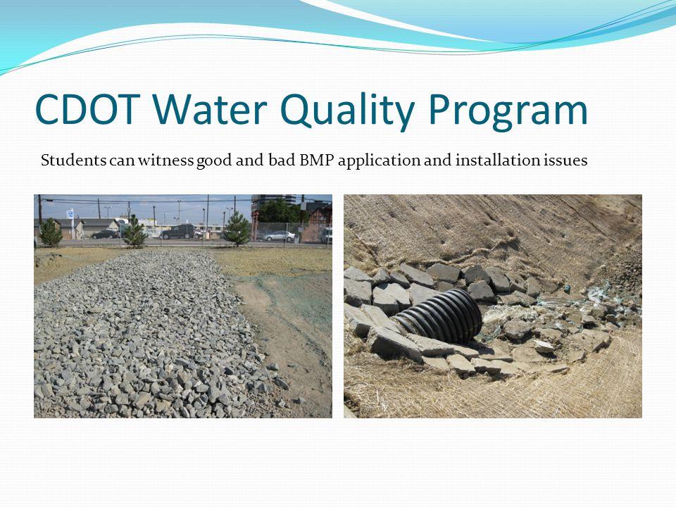 CDOT Water Quality Program