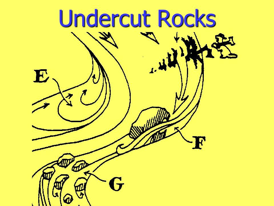 Undercut Rocks