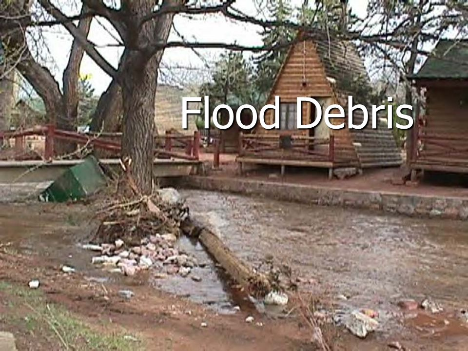 Flood Debris