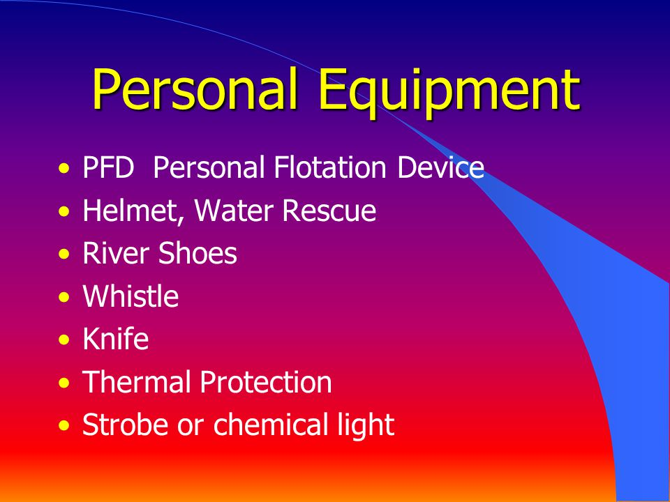 Personal Equipment PFD Personal Flotation Device Helmet, Water Rescue