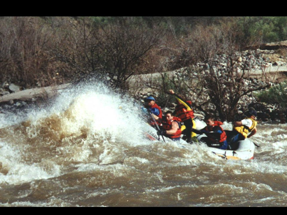 Paddle crew training on upper Salt River