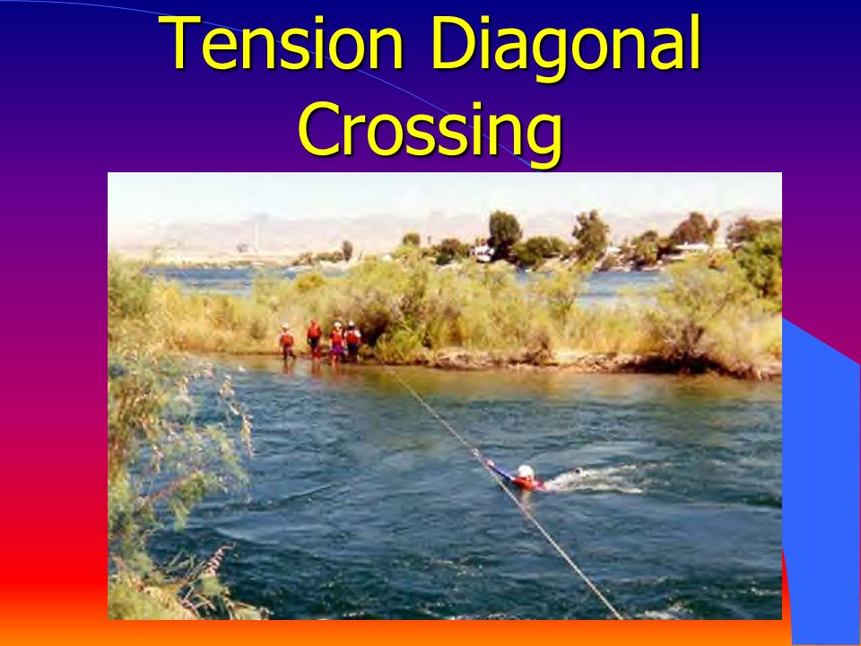 Tension Diagonal Crossing