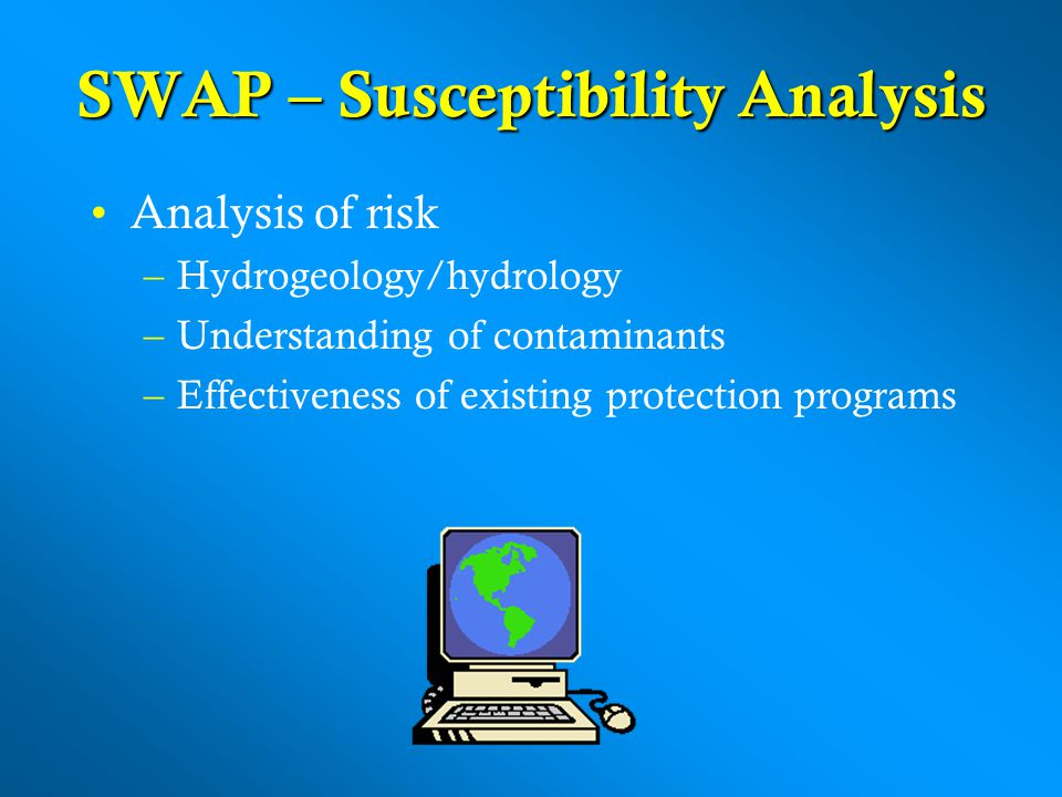 SWAP – Susceptibility Analysis