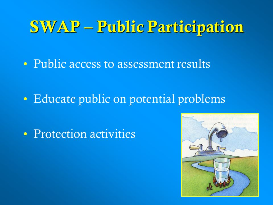 SWAP – Public Participation