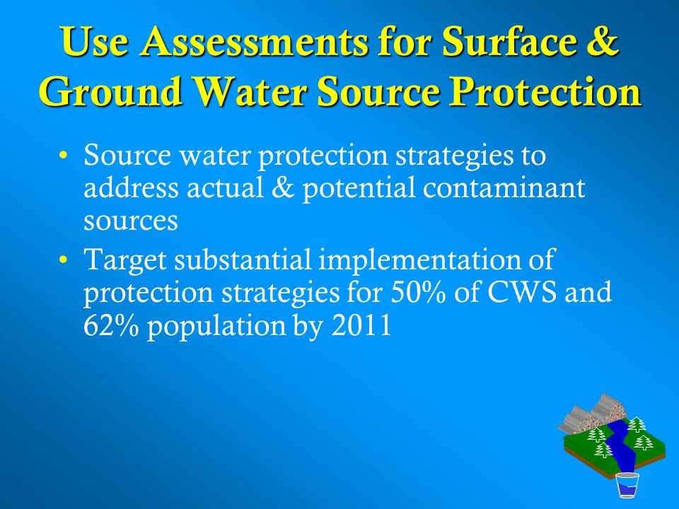 Use Assessments for Surface & Ground Water Source Protection