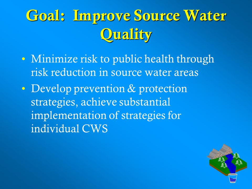 Goal: Improve Source Water Quality
