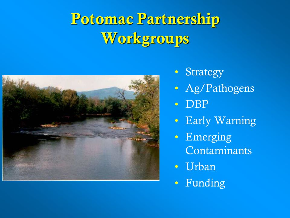 Potomac Partnership Workgroups