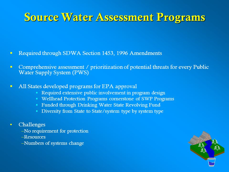 Source Water Assessment Programs