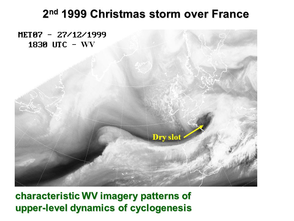 2nd 1999 Christmas storm over France