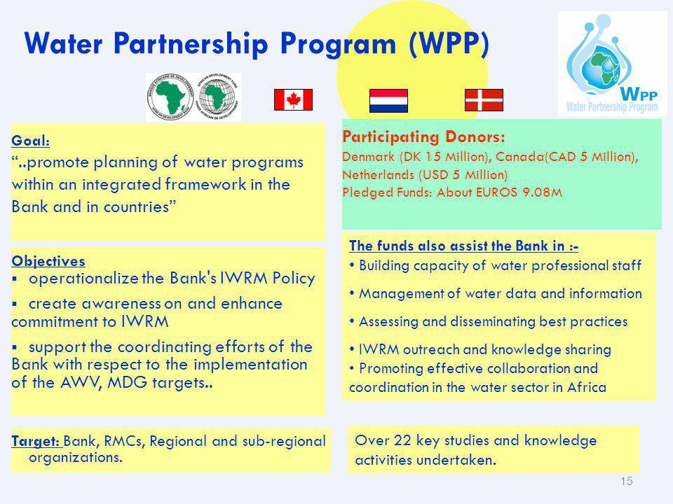 Water Partnership Program (WPP)