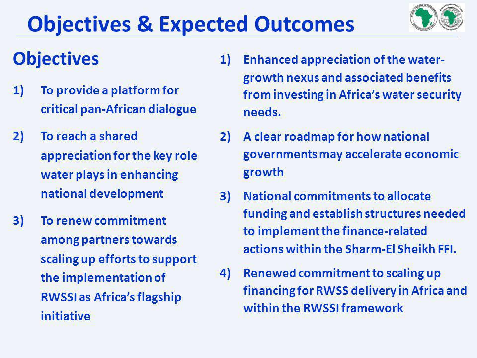 Objectives & Expected Outcomes