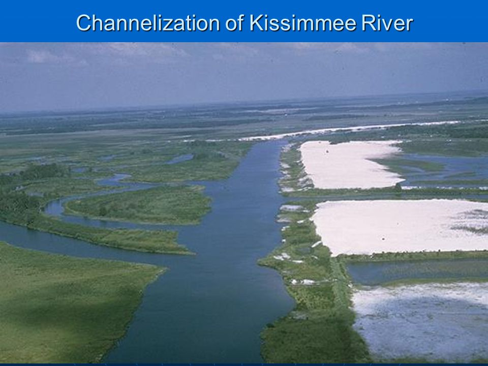 Channelization of Kissimmee River