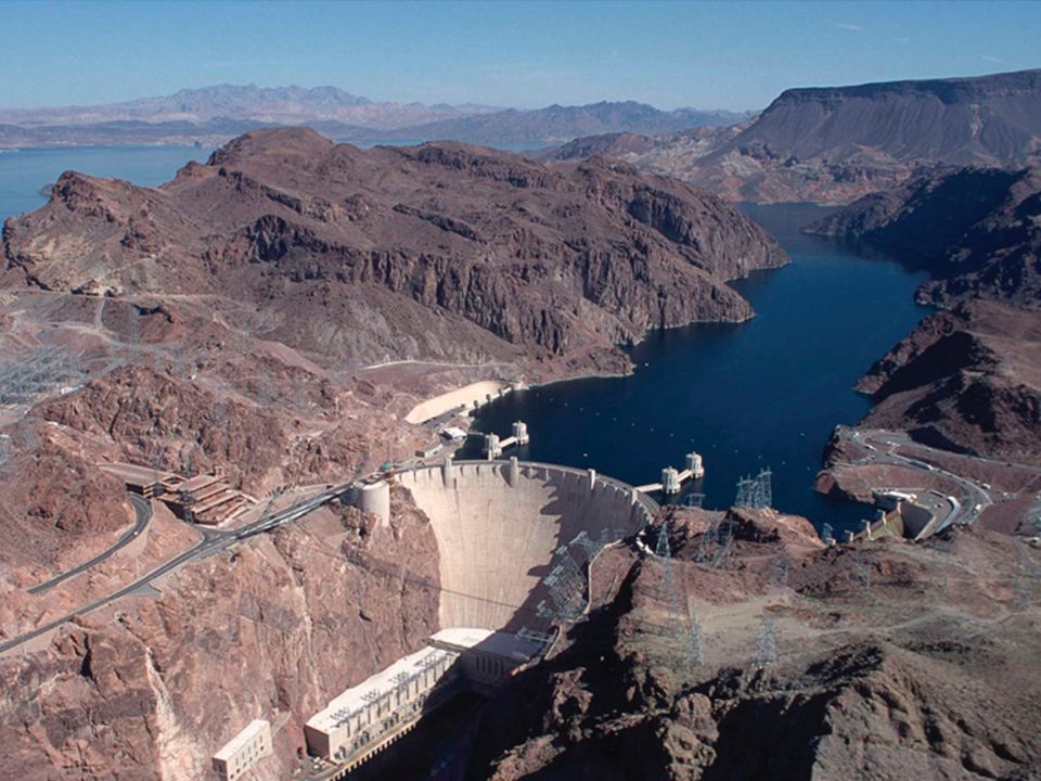Evaporative losses from Lake Meade and Lake Powell is 264 billion gallons per year (>300 billion gal per year for Colorado River).