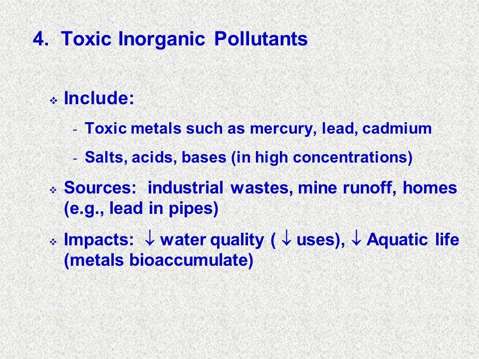 4. Toxic Inorganic Pollutants