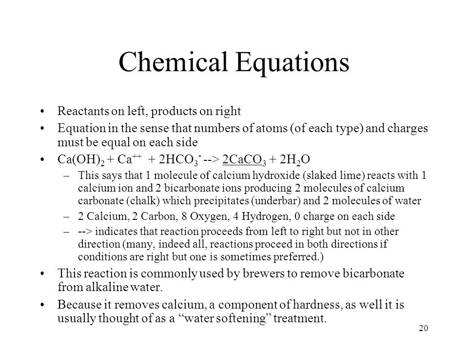 Measurement of Chemicals