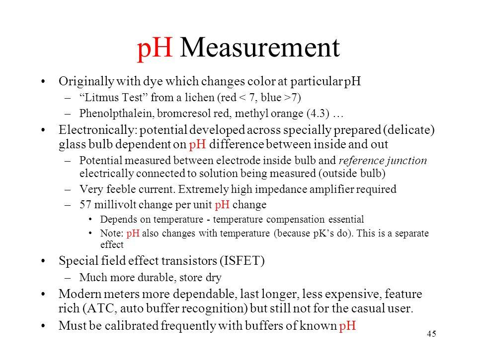 Part III Adding Phosphate, Residual Alkalinity
