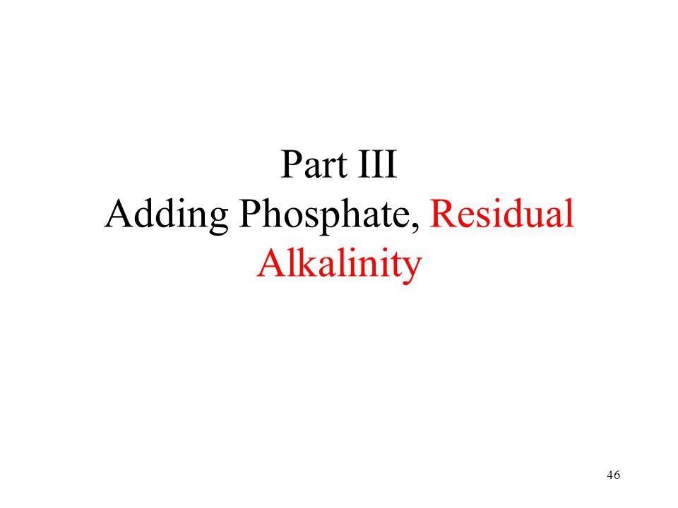 Phosphoric Acid Chemistry