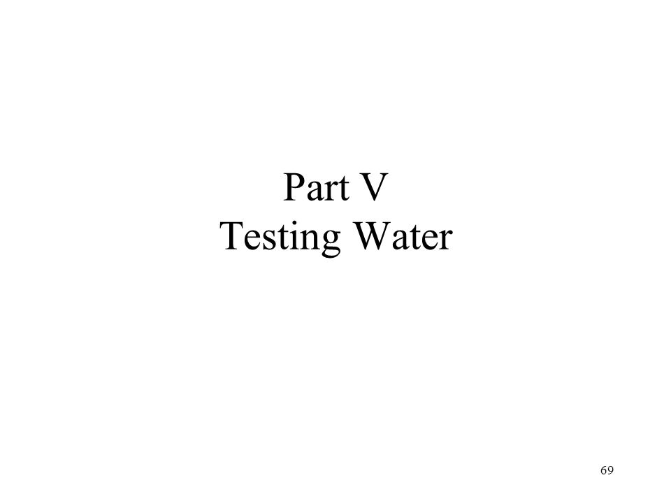 Why Discuss Testing Test principals build on many of the things you have learned and most important test (alkalinity) mimics what happens in mash.