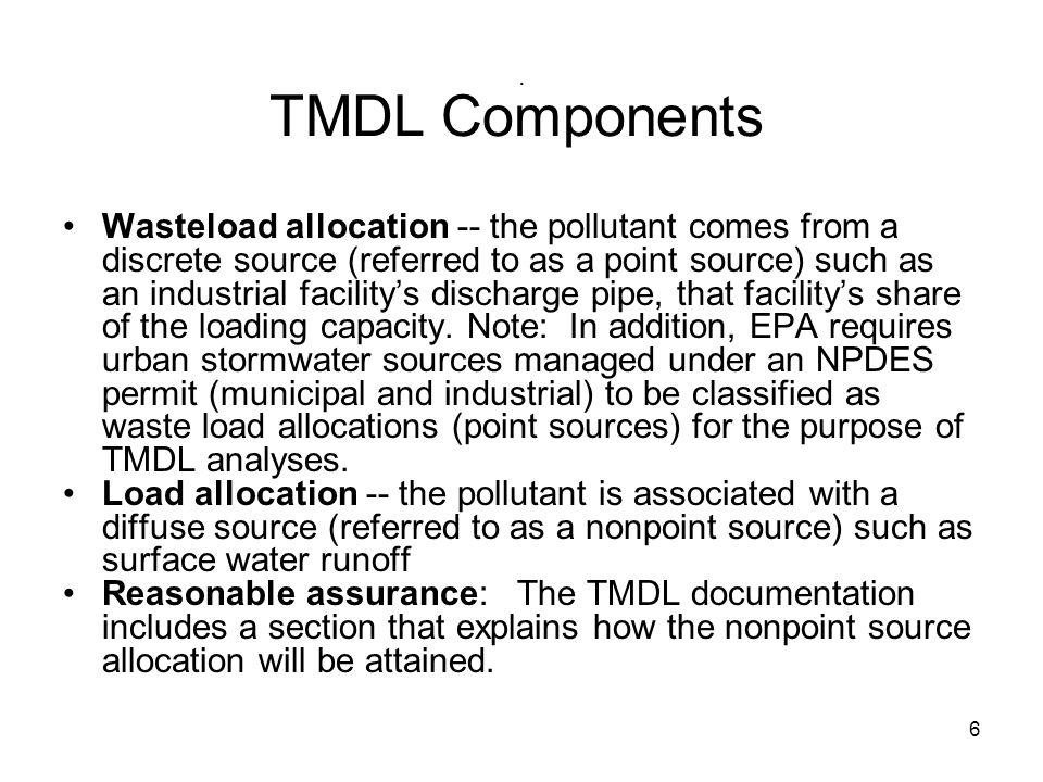 . TMDL Components.