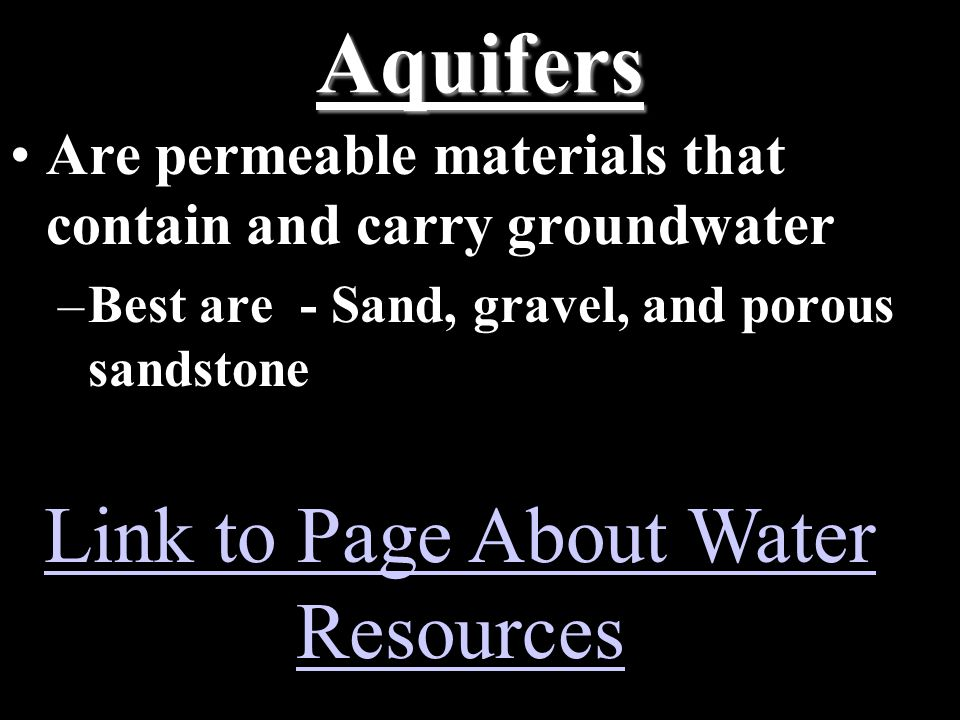 Link to Page About Water Resources
