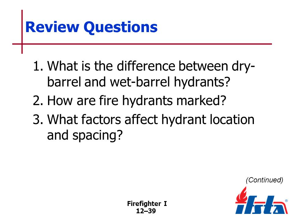 Review Questions 4. List alternative water supplies.