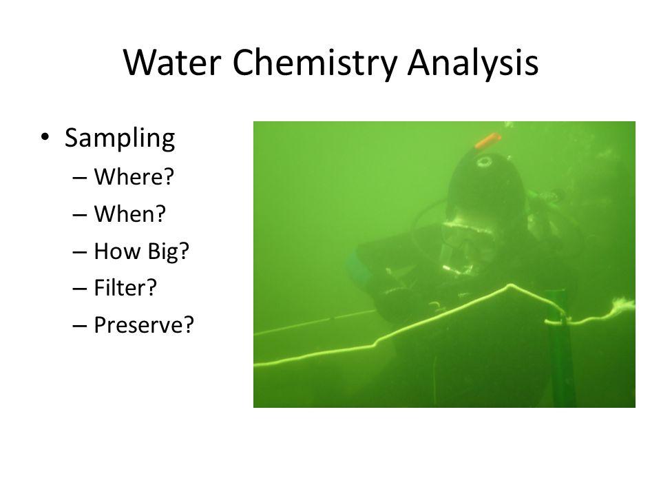 Water Chemistry Analysis