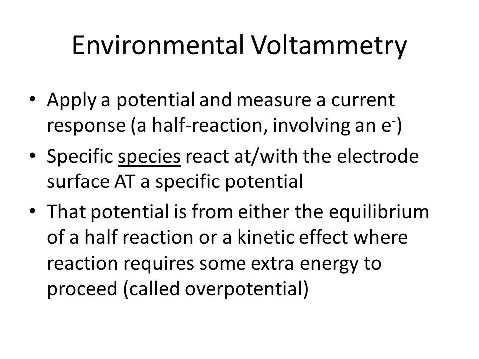 Environmental Voltammetry