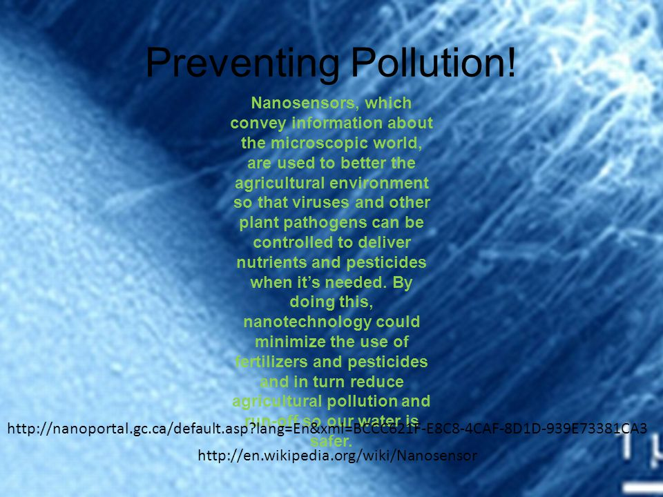 Preventing Pollution!
