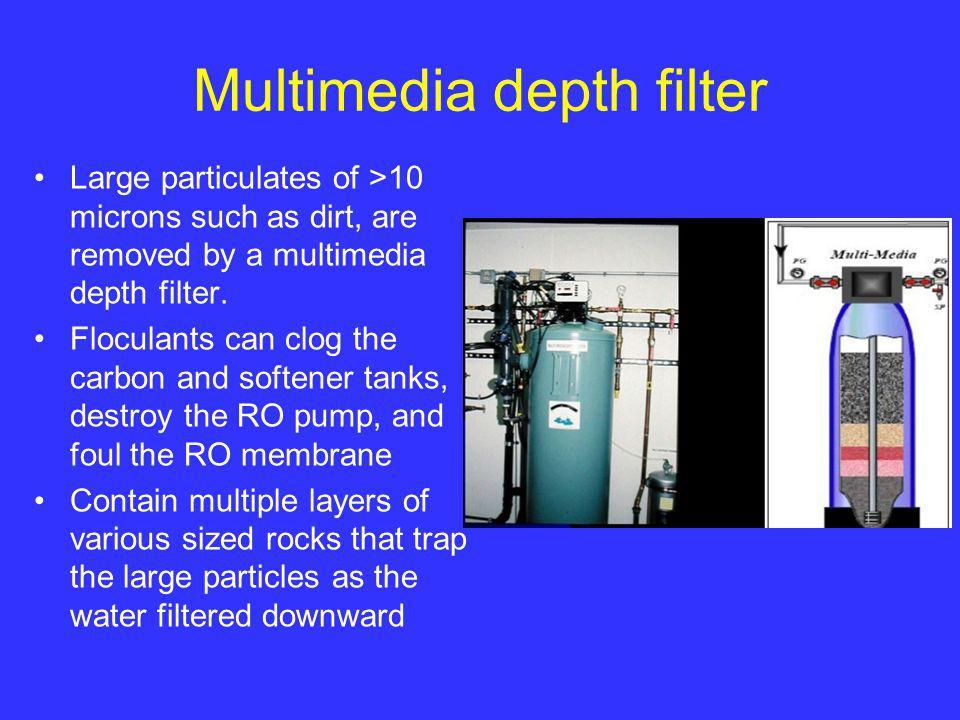 Multimedia depth filter