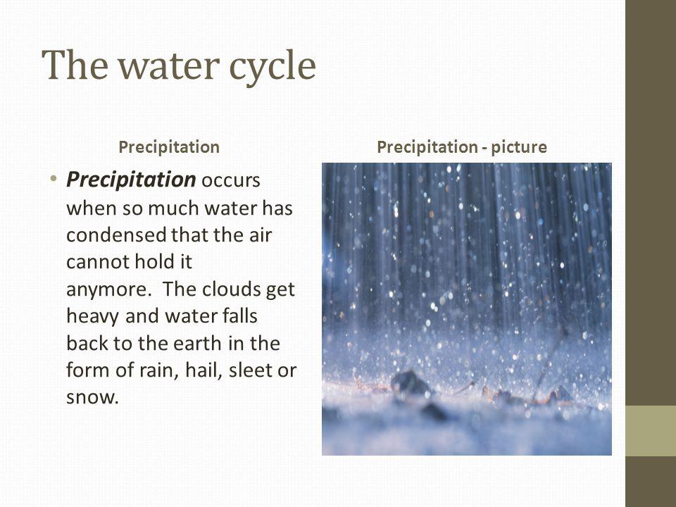 Precipitation - picture