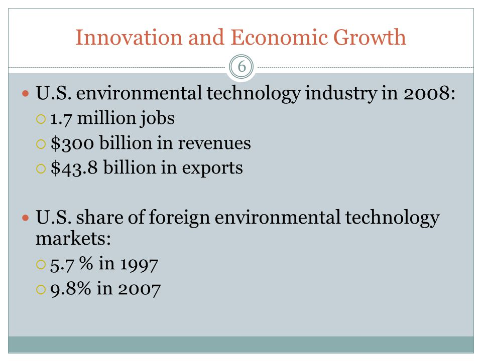 Innovation and Economic Growth
